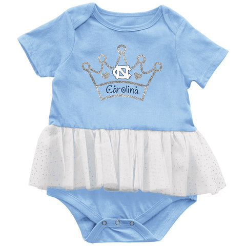 North Carolina Tar Heels Colosseum Princess Baby Tutu - Carolina Blue