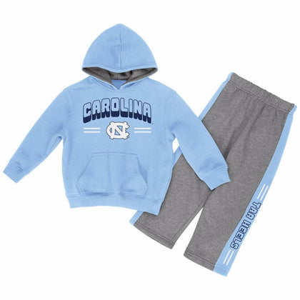 North Carolina Tar Heels Toddler Boys Punter Fleece Set