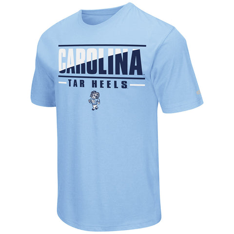 North Carolina Tar Heels Colosseum Two Face T-Shirt - Carolina Blue
