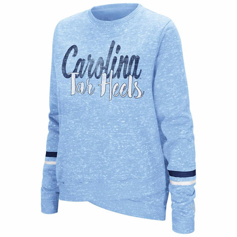 North Carolina Tar Heels Colosseum Women's Birdie Fleece Pullover - Carolina