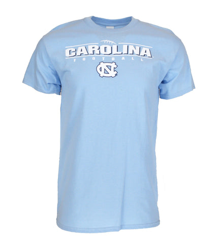 North Carolina Tar Heels Football Laces T-Shirt - Carolina Blue