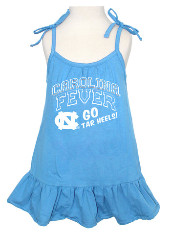 North Carolina Tar Heels Klutch Carolina Fever Baby Tank Dress