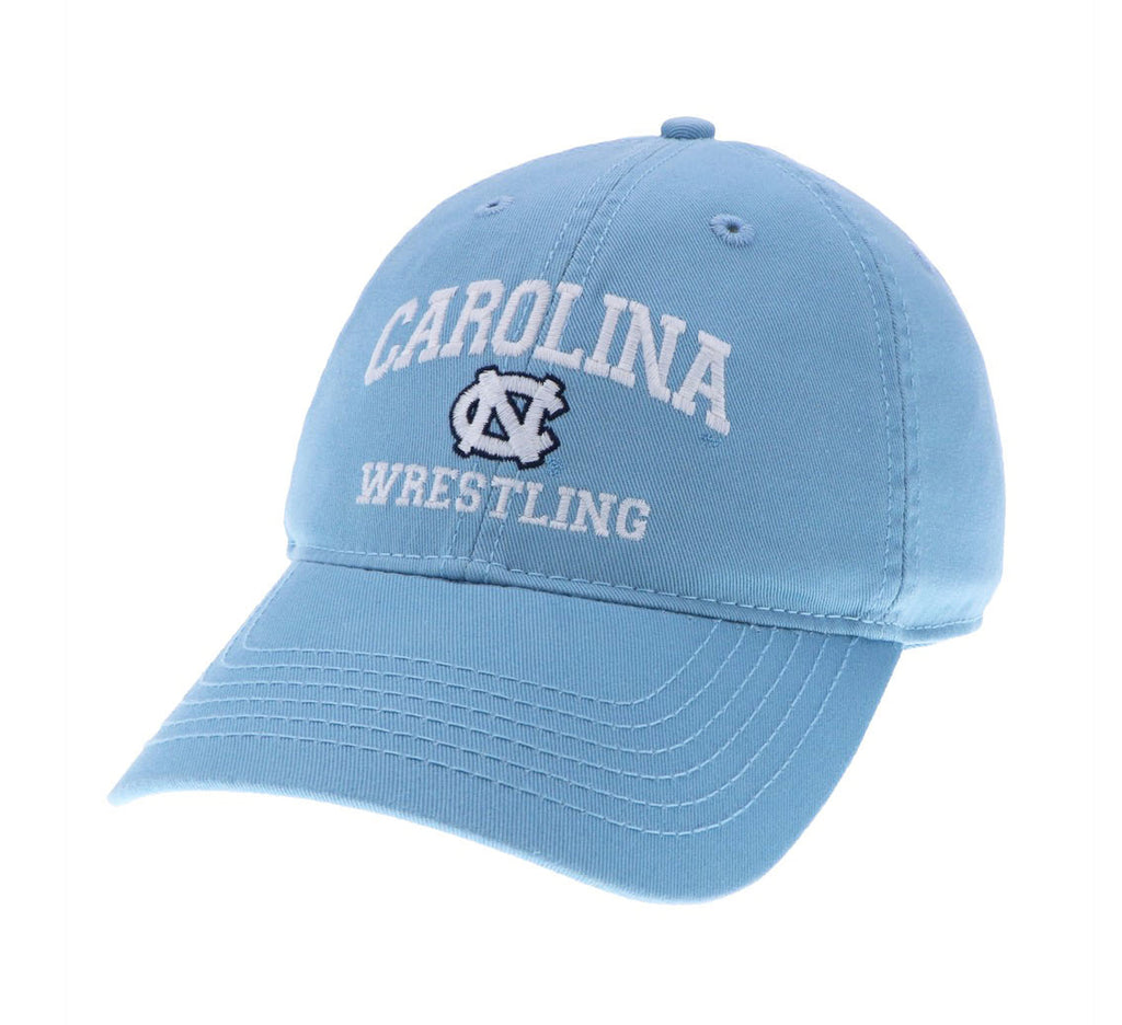 North Carolina Tar Heels Legacy Wrestling Adjustable Hat - Carolina Blue