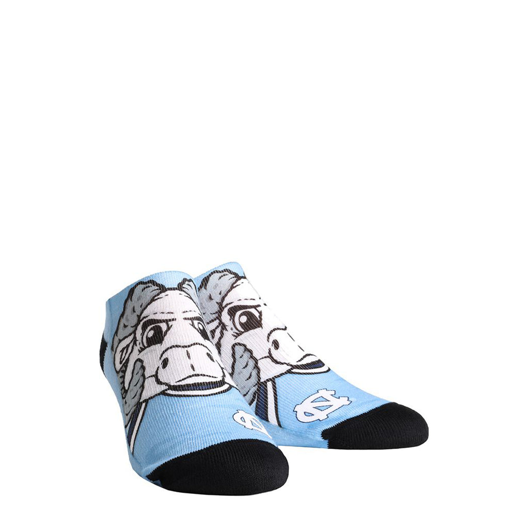 0487fa642c7 North Carolina Tar Heels Rock Em Low Cut Rameses Socks - Carolina Blue –  Shrunken Head