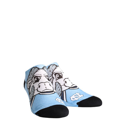 North Carolina Tar Heels Rock'Em Low Cut Rameses Socks - Carolina Blue