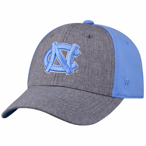 North Carolina Tar Heels Top of The World Fabooia One Fit Hat