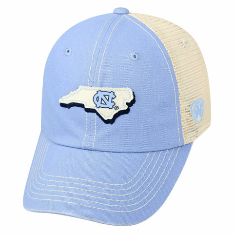 North Carolina Tar Heels Top of the World United Two-Tone Hat - Carolina Blue