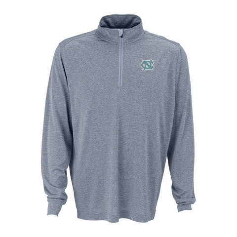 North Carolina Tar Heels Melange 1/4 Zip Pullover - Grey