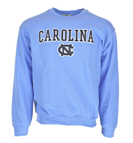 North Carolina Tar Heels Vantage UNC Classic Laser Crewneck Sweatshirt - Carolina Blue