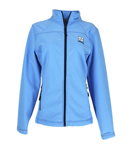 North Carolina Tar Heels Women's Shell Full-Zip Jacket - Carolina Blue