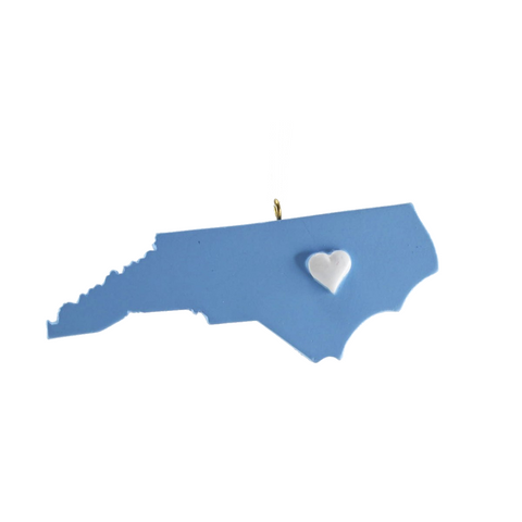 Chapel Hill Heart Ornament