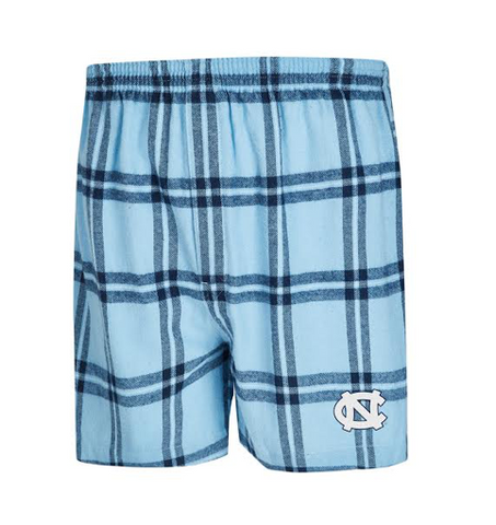 North Carolina Tar Heels College Concepts Homestretch Men's Flannel Boxers