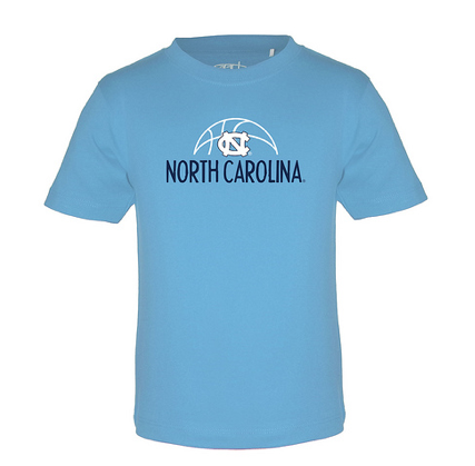 North Carolina Tar Heels Garb Toni Light Blue Toddler T-shirt