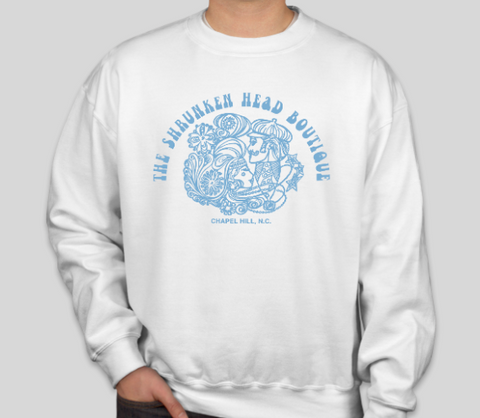 Shrunken Head Boutique  Crewneck Sweatshirt