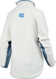 UNC Tar Heels Sherpa Jacket for Women - Aspen