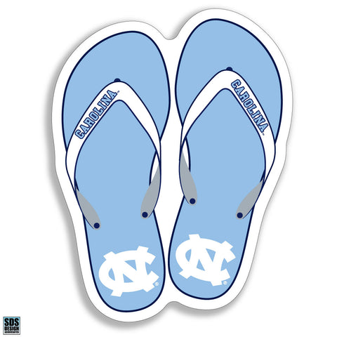 North Carolina Tar Heels Flipflip Decal