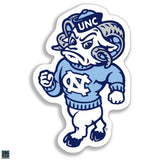 University of North Carolina Mascot Sticker Ramses Decal