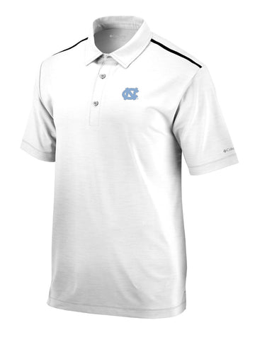 North Carolina Tar Heels Columbia Alignment Polo - White