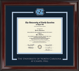 UNC Spirit Medallion Diploma Frame in Encore