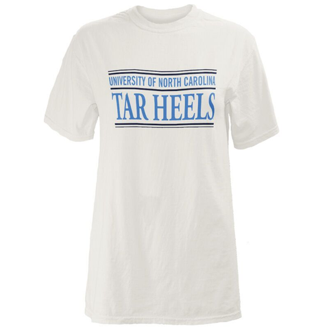 Comfort Colors Bar White University of North Carolina T-Shirt