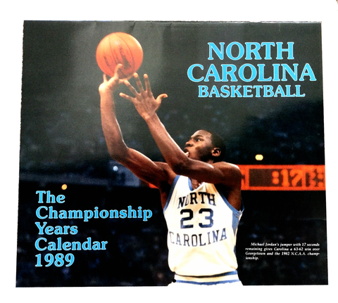 "North Carolina Tar Heels 1989 ""The Championship Years Calendar"""