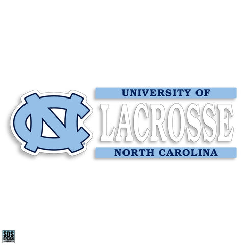 University of North Carolina Lacrosse Decal