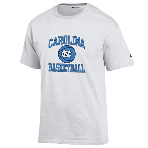 Vintage White Champion Carolina Basketball T-Shirt