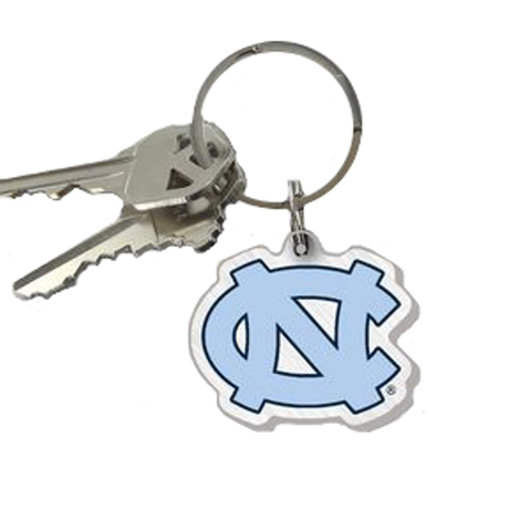 Shrunk Interlock NC Key Chain