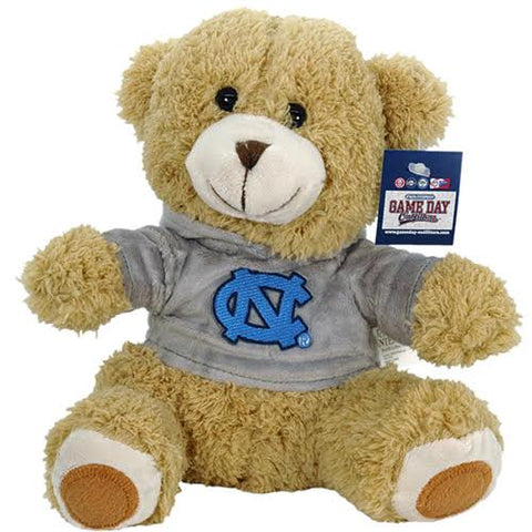 Plush UNC Teddy Bear with Hoodie Stuffed Animal Toy