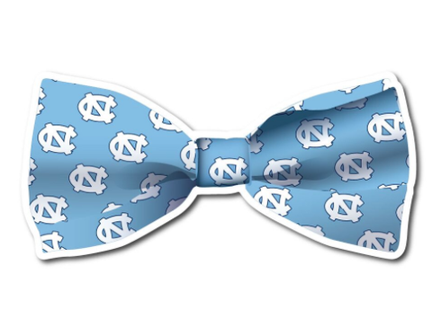 North Carolina Tar Heels SDS Bowtie Decal 3""