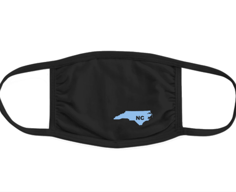 North Carolina Face Mask for Adults