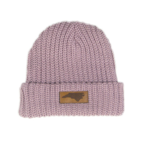 Pink North Carolina Knit Beanie