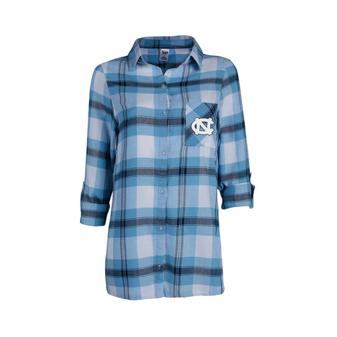North Carolina Tar Heels College Concepts Headway Ladies Long Sleeve