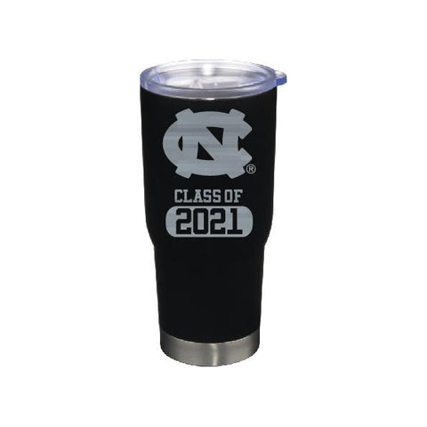 UNC Chapel Hill Class of 2021 Large Stainless Steel Tumbler 22 oz Black