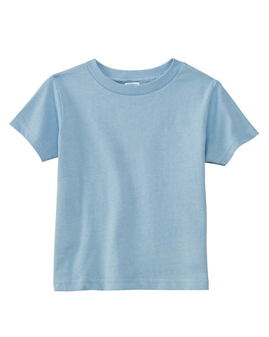 Light Blue Toddler T-Shirt Blank
