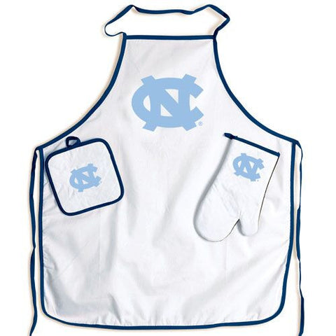 North Carolina Tar Heels Cook Out Apron Set