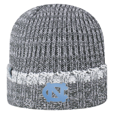North Carolina Tar Heels Lil Cyber Hat and Gloves Combo Youth Knit Grey Hat
