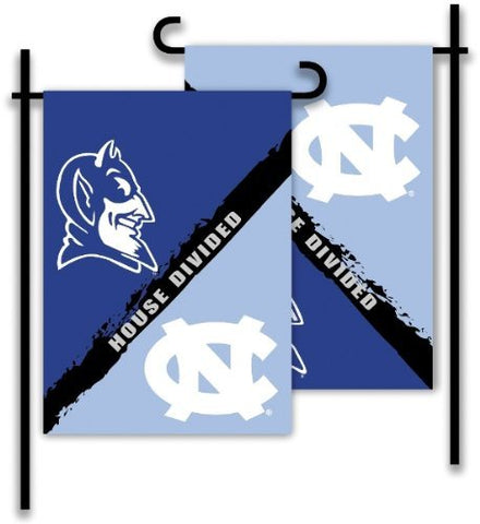 Duke House Divided Garden Flag