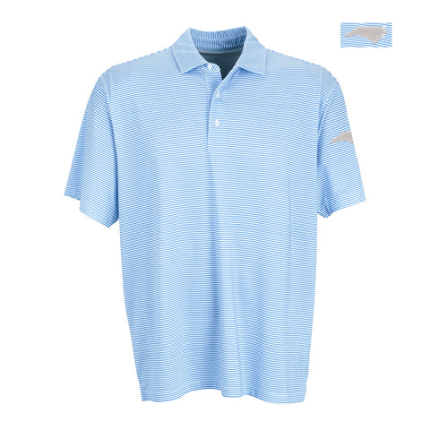SHB Striped North Carolina State Polo