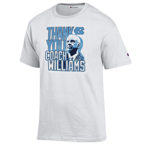 UNC Thank You Coach  Williams T-Shirt by Champion