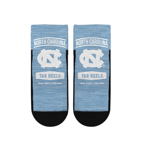 North Carolina Tar Heels Rock 'Em Arch Icon Quarter Socks