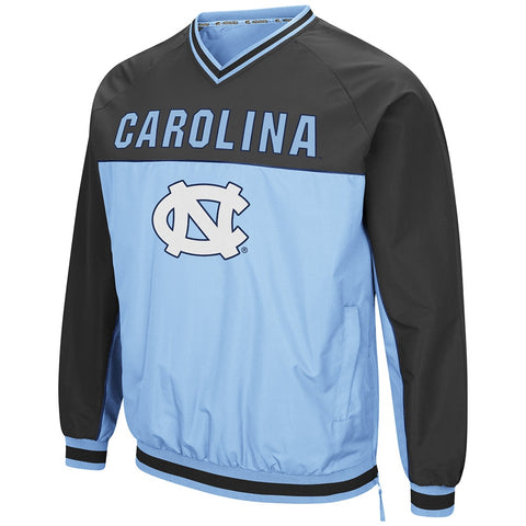North Carolina Tar Heels Colosseum Mens Coach Klein Windbreaker