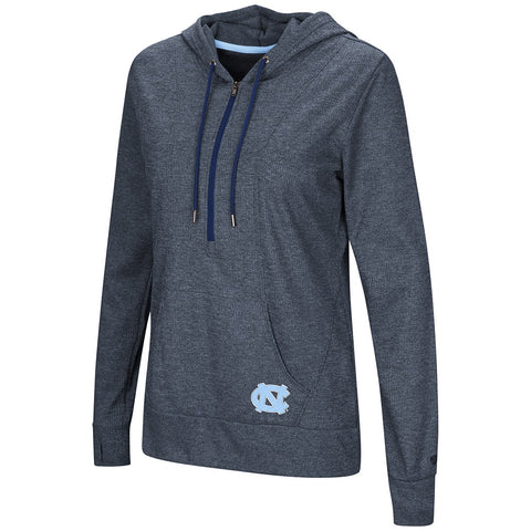 North Carolina Tar Heels Women's Sugar 1/2 Zip Hoodie Pullover