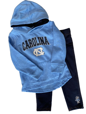UNC Tar Heels Toddler Hoodie and Leggings Set