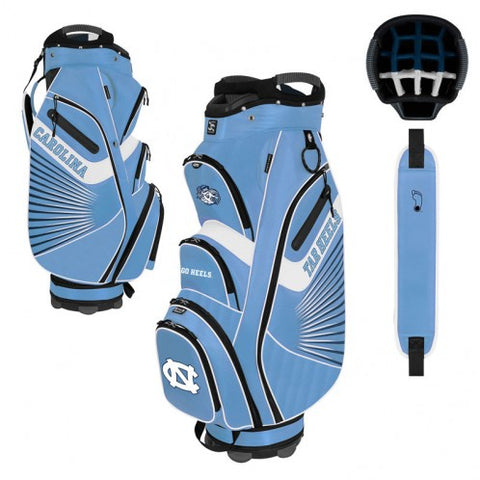 North Carolina Tar Heels Golf Bag - Bucket Cart Tour Bag