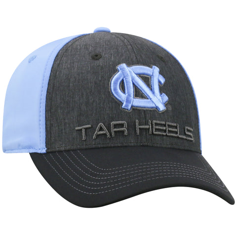 North Carolina Tar Heels Top of the World Reach One Fit Three Tone Adult Hat