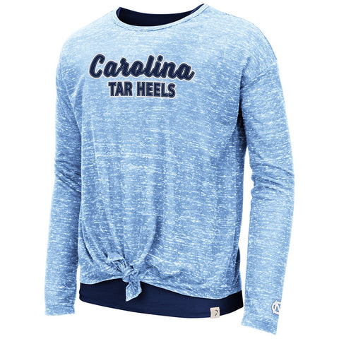 North Carolina Tar Heels Brain Girls Double Layer UNC Long Sleeve