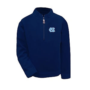 UNC Tar Heels Kids Quarter Zip Jacket