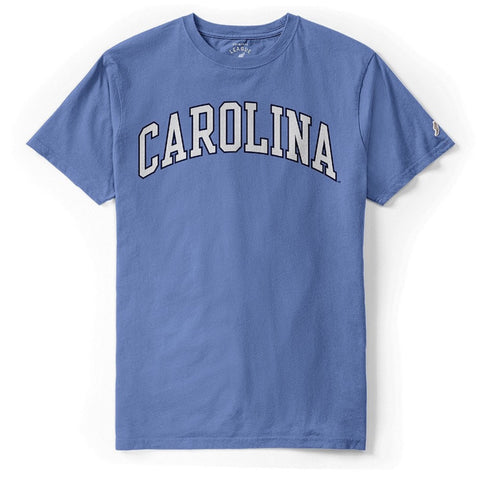 First Year Tee by League - Power Blue Classic Arched Carolina T-Shirt