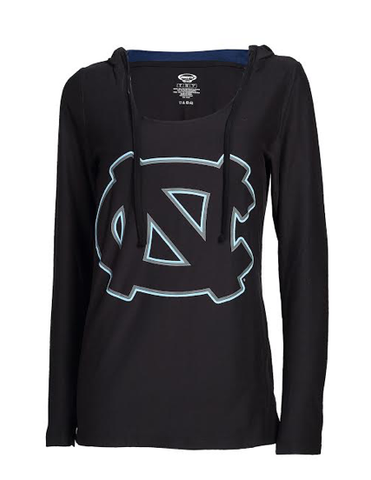 North Carolina Tar Heels College Concepts Fortitude Pullover Hoodie